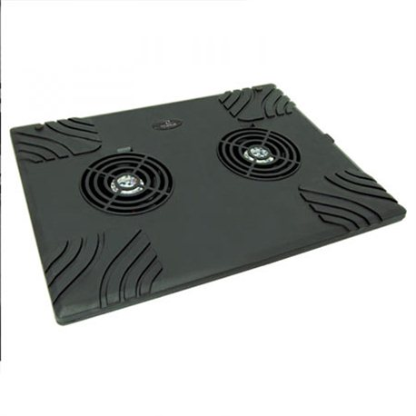 "Postolje za notebook TITANUM ZONDA, do 15,6"", 2xFan, USB, 1500 rpm, TA102"
