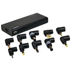 Univerzalni adapter za notebok MEDIACOM 90W + USB M-ACNBU90X