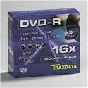 DVD-R TRAXDATA, 4.7GB, 16X, spindle 50 kom, PRINTABLE white