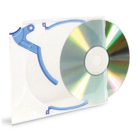Korice za CD/DVD+ 5xKickOut + 5xClips INTENSO