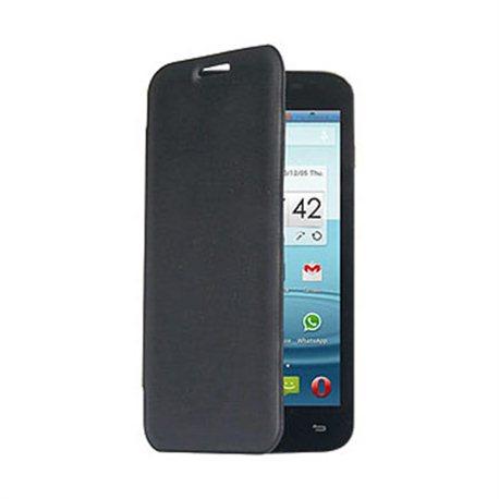 MEDIACOM M-G500AFC Flip case, crna futrola za smartphone G500