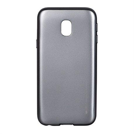 Zaštitna futrola Mercury i-Jelly metal case Samsung J330 J3 2017 gray