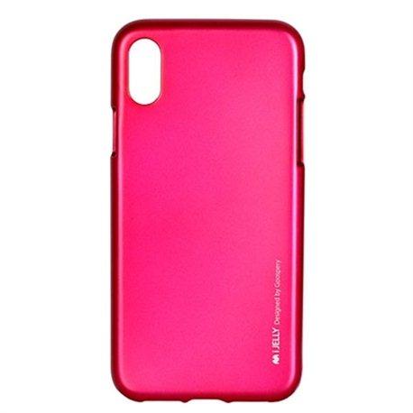 Zaštitna futrola Mercury i-Jelly metal case iPhone X rose gold