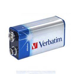Baterija VERBATIM ALKALNA 9V 049924