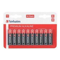 Baterija VERBATIM,1,5V AA 10/1,ALKALNA 049875,LR-6