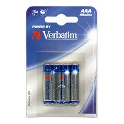 Baterija VERBATIM,1,5V AAA 4/1,ALKALNA 049920,LR-03