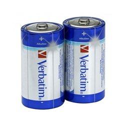 Baterija VERBATIM,1,5V C 2/1,ALKALNA 49922 LR14