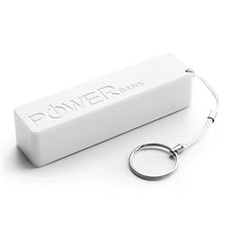 PowerBank EXTREME QUARK, 2000mAh WHITE, +key ring, XMP101W