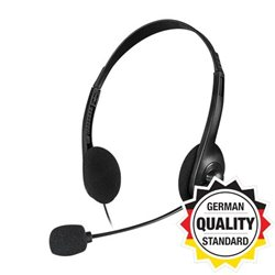Slušalice sa mikrofonom SPEEDLINK ACCORDO Stereo, black, SL-870003-BK