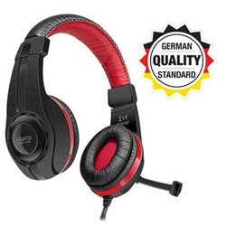 Slušalice sa mikrofonom SPEEDLINK LEGATOS Stereo Gaming, black, SL-860000-BK