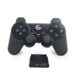Game Pad Wireless GEMBIRD JPD-WDV-01 dual vibration, za PS2/PS3/PC