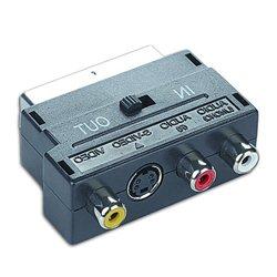 SCART to 3 RCA + SVHS sa switch-em, GEMBIRD CCV-4415