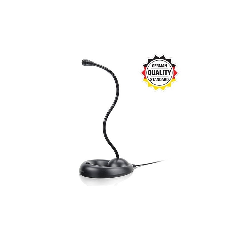 87e841ebc ... Mikrofon SPEEDLINK LUCENT Flexible Desktop black, SL-8708-BK ...