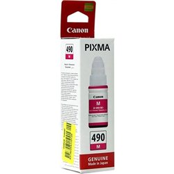 Tinta Canon GI490M MAGENTA za printer Canon  G1400, G2400, G3400(0665C001AA)