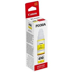 Tinta Canon GI490Y YELLOWza printer Canon  G1400, G2400, G3400(0666C001AA)