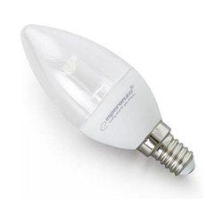 LED sijalica ESPERANZA, C37 LENS E14 5W, warm white, A+, 430 lm, ELL121