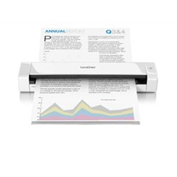 Brother DS-720D 600 x 600DPI A4 Belo scanner
