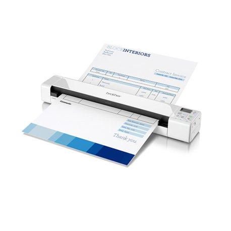 Brother DS-820W skener sa automatskim uvlačenjem papira 600 x 600DPI A4 Belo scanner