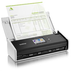 Brother ADS-1600W ADF scanner 600 x 600DPI A4 Crno, Belo scanner