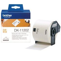 Brother DK-11202 Crno na belo DK label-making tape