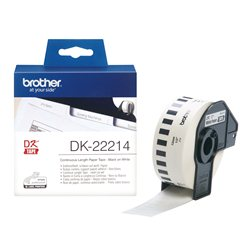 Brother DK-22214 Crno na belo DK label-making tape