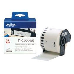 Brother DK-22205 Crno na belo DK label-making tape