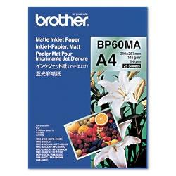 Brother BP60MA Inkjet Paper A4 (210×297 mm) Matte Belo printing paper