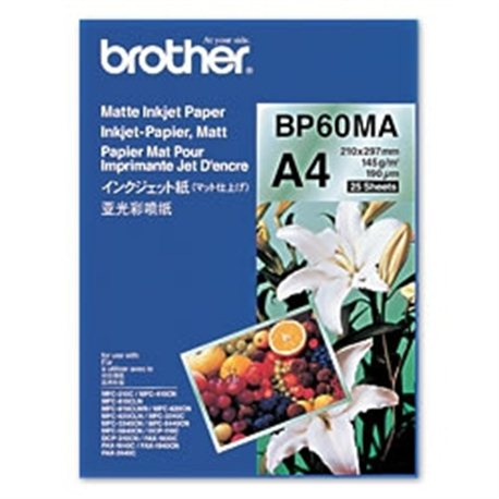 Brother BP60MA Inkjet Paper A4 (210×297 mm) Matte Belo printing paper