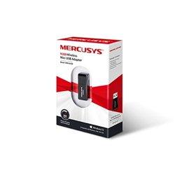 USB Mini WLAN Mercusys MW300UM 2.4GHz, 300Mbps, IEEE 802.11b/g/n
