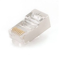 UTP konektor GEMBIRD RJ45, CAT6 gold plated, PLUG6SP/10, 10 kom