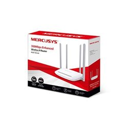 ROUTER Mercusys MW325R  300Mbps, 4x5dBi fixed omni directional antennas, 4x10/100Mbps LAN ports,  IEEE 802.11b, 2.4GHz, CE,