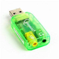 Zvučna kartica GEMBIRD, Virtus, USB 2.0, SC-USB-01