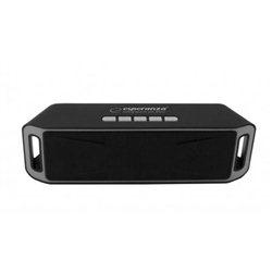 Zvučnik BLUETOOTH ESPERANZA FOLK, FM radio, microSD, USB, black gray, EP126KE