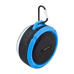 Zvučnik BLUETOOTH ESPERANZA COUNTRY, USB, BLACK-BLUE, EP125KB