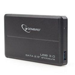 """Kućište za externi 2,5"""" HDD GEMBIRD EE2-U3S-2 SATA/USB 3.0, black"""