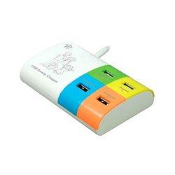 Mediacom Punjač FAMILY CHARGER 4PORT - USB M-USBPS4F
