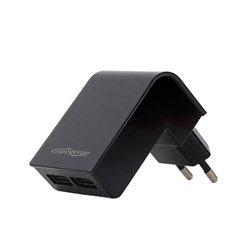 USB punjač GEMBIRD, 2 porta 2,1A, black, EG-U2C2A-02