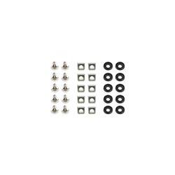 Set za montazu u rack GEMBIRD 19A-FSET-01 sarafi/matice/podloska, 10 komada