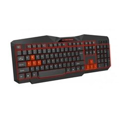 Tastatura gaming ESPERANZA TIRIONS, USB, illuminated, red, US layout, EGK201R