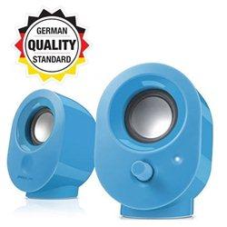 Zvučnici 2.0 SPEEDLINK SNAPPY Stereo, blue, USB, SL-8001-BE