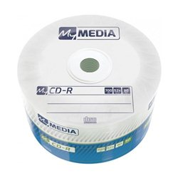 CD-R,MYMEDIA, 700 MB,52X,spindle 50 kom WRAP,69201