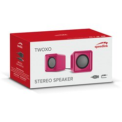 Zvučnici 2.0 SPEEDLINK TWOXO Stereo, pink, SL-810004-PK