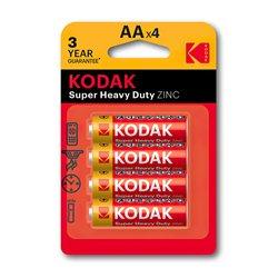 Baterija KODAK,CKLR6 AA CINK KLORID 4/1 (887930951042)