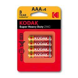 Baterija KODAK,RO3 AAA CINK KLORID 4/1, 1,5 V (887930953329)