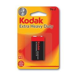 Baterija KODAK,K9HZ ZNCL 9V (887930953435)