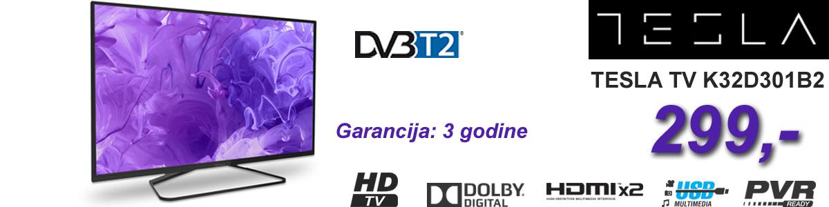 TESLA TV 32'' D301 HD DVB-C/T2